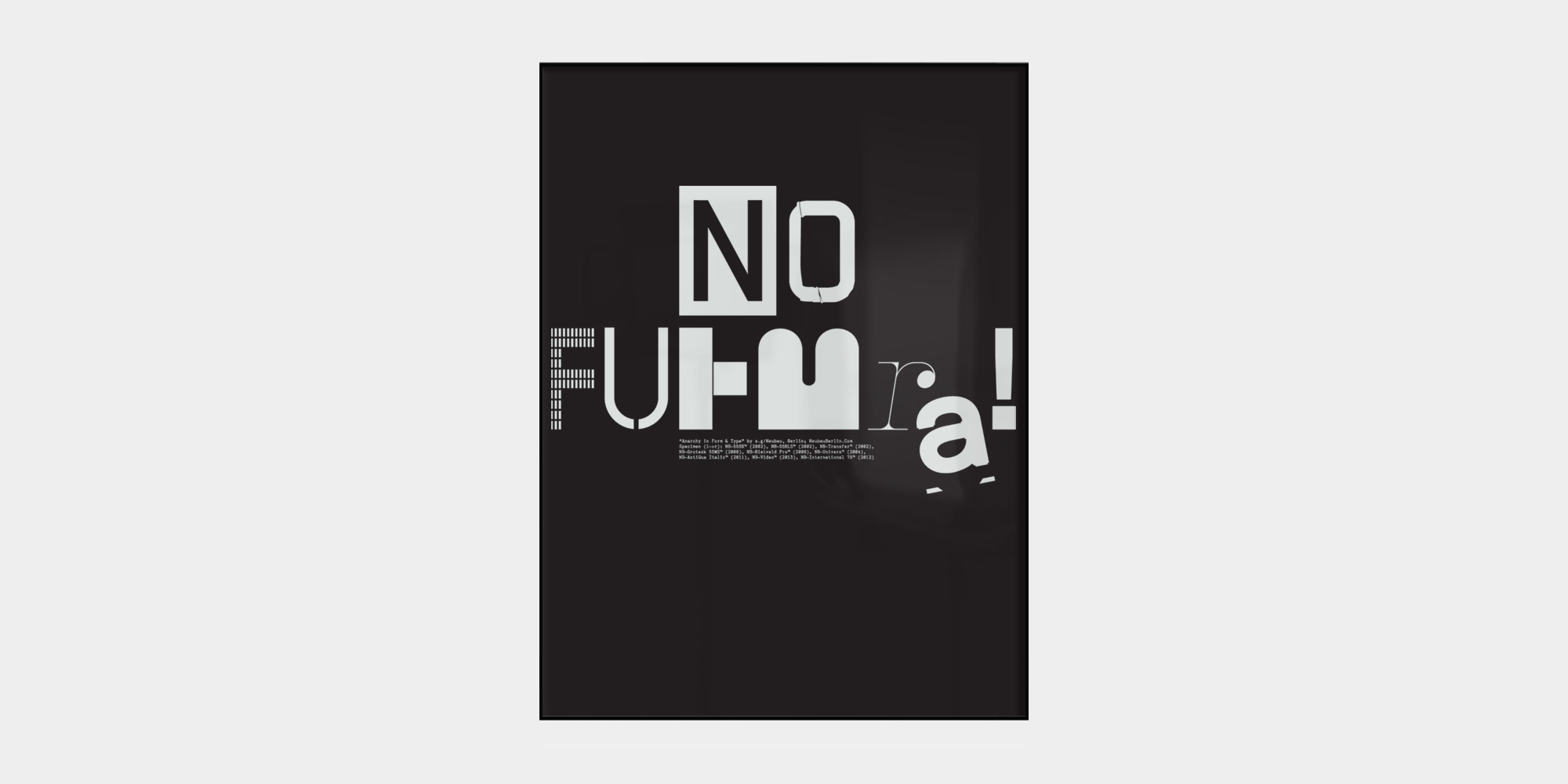 No-Futura-Poster