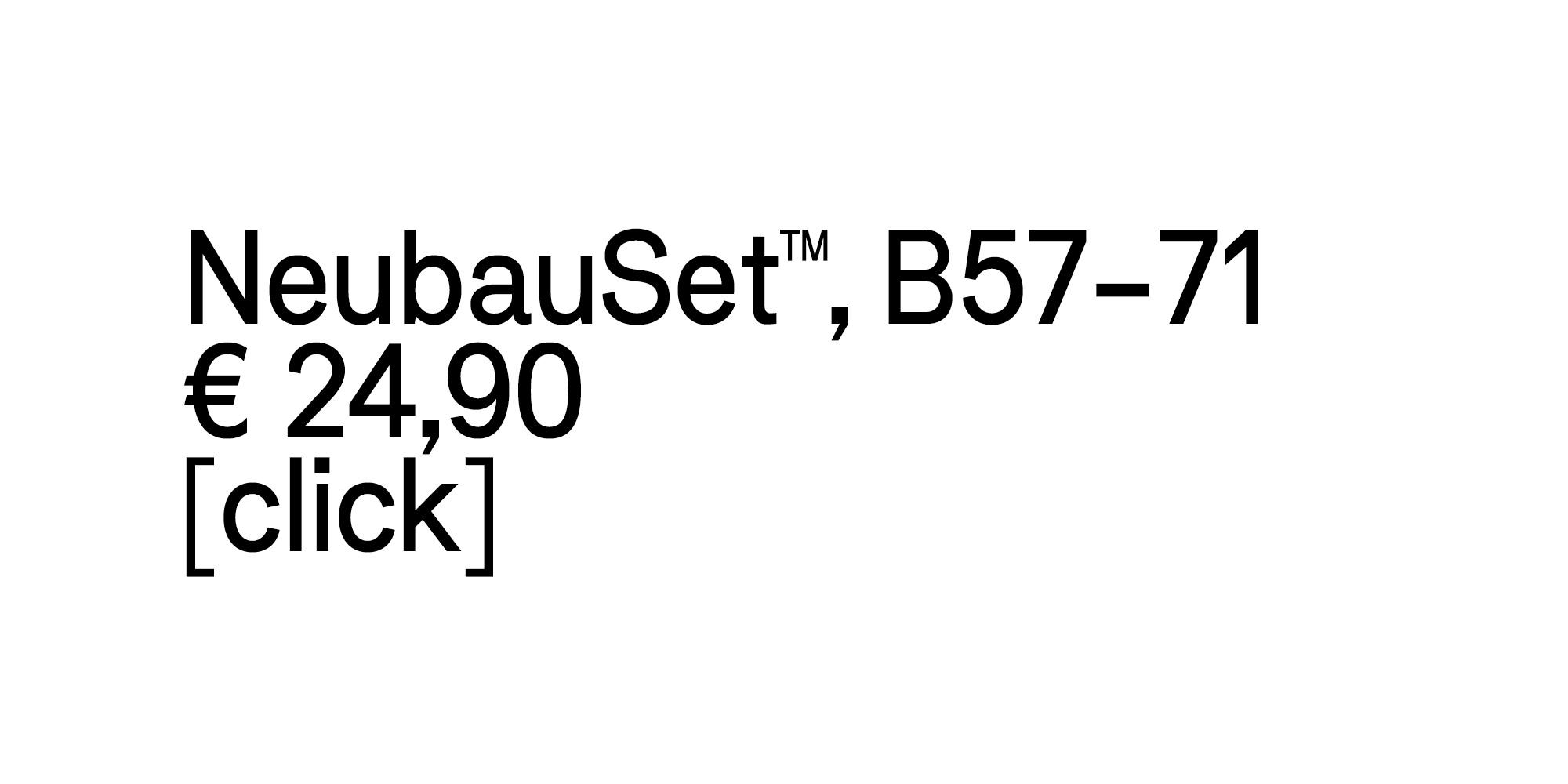 NBL-NeubauSetB57-71